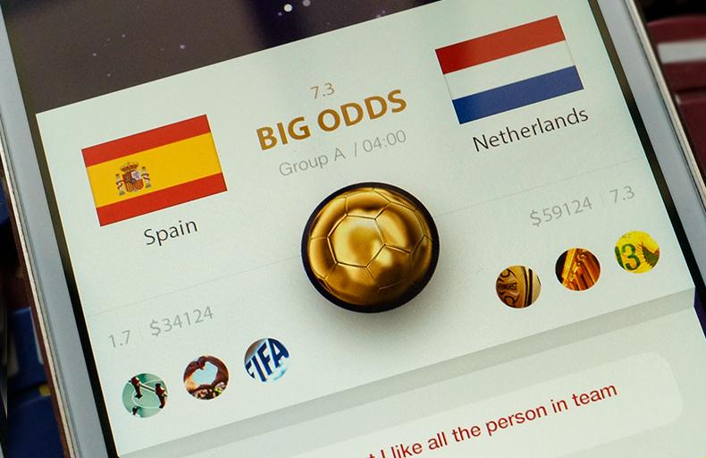 L & R · Gambling App