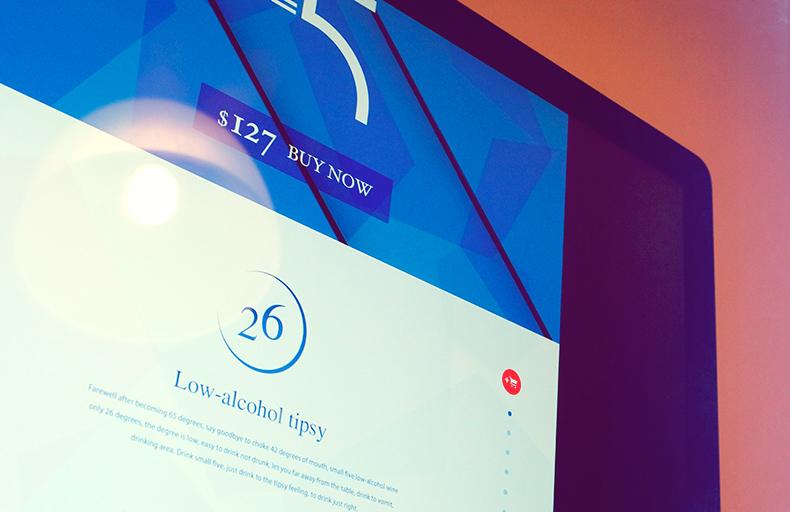 MINI5 · Base Wine Website Design